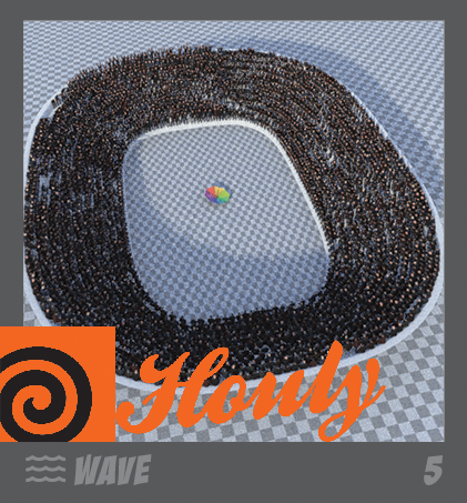 HOULY 2020 Day 5 – Wave