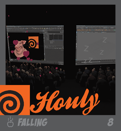 HOULY 2020 Day 8 – Falling